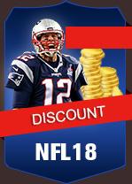 NFL 18  Coins - PS4 10 K Coins