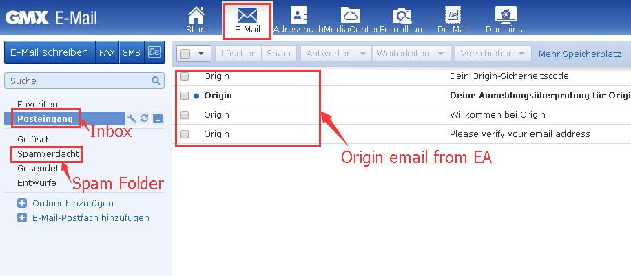 Lotto Gmx gmx de email box login flowchart